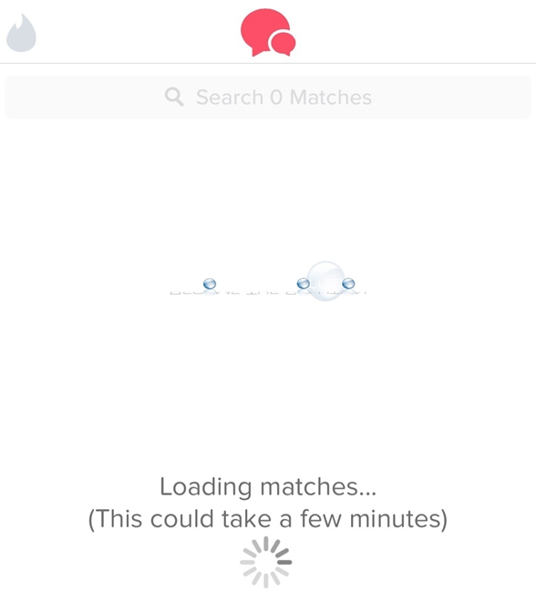 Tinder Matches Not Loading