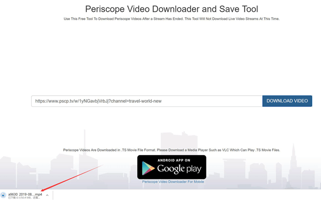 Periscope Video Downloader