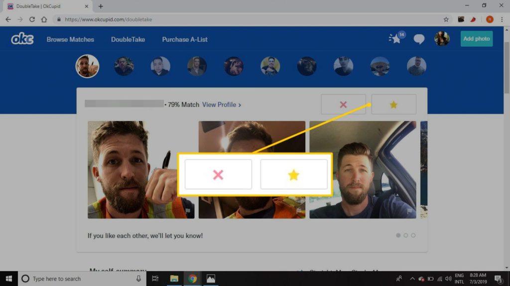 OkCupid Doubletake Web