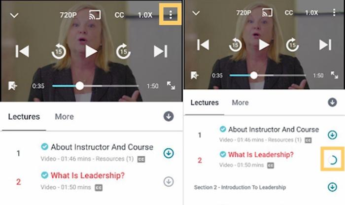 Download Udemy Videos on Mobile