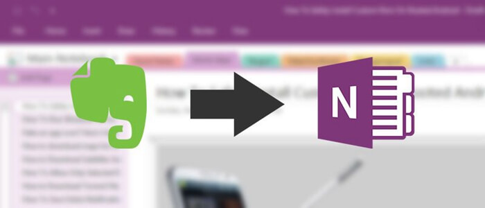 How to Import Evernote to OneNote on Windows/Mac