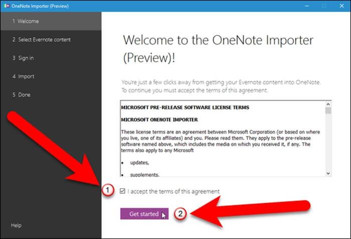Install OneNote Importer