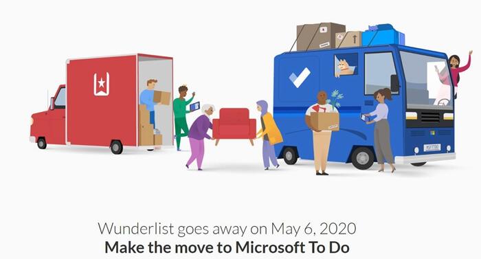 Wunderlist to Microsoft