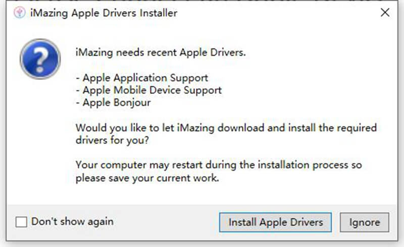 iMazing Install