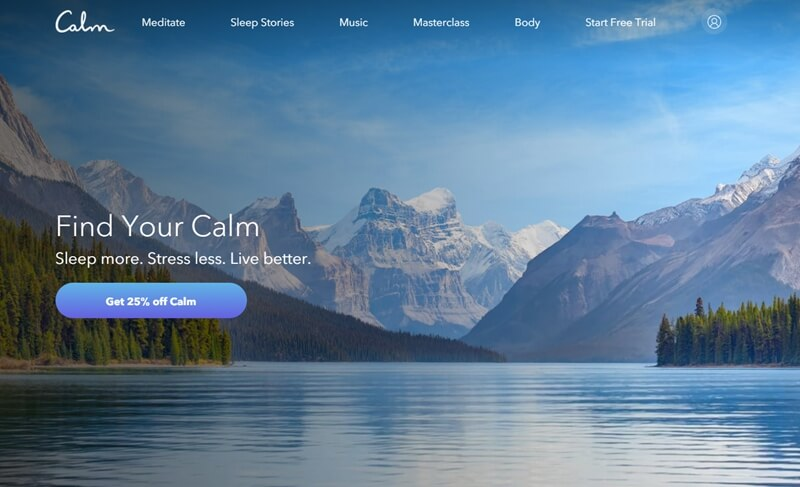 Calm App Cost