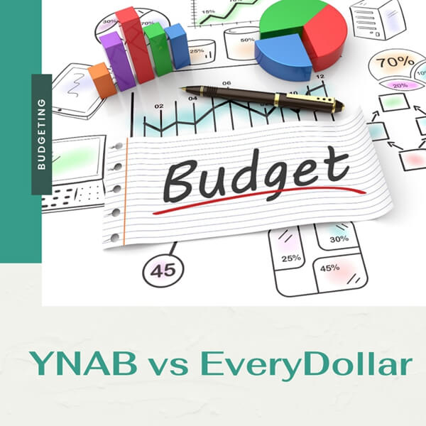 YNAB vs EveryDollar: Similarities, Differences, Pros & Cons