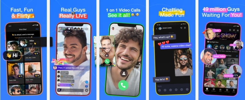 Blued - LIVE Gay Chat & Dating