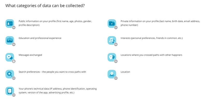Happn Data Collection