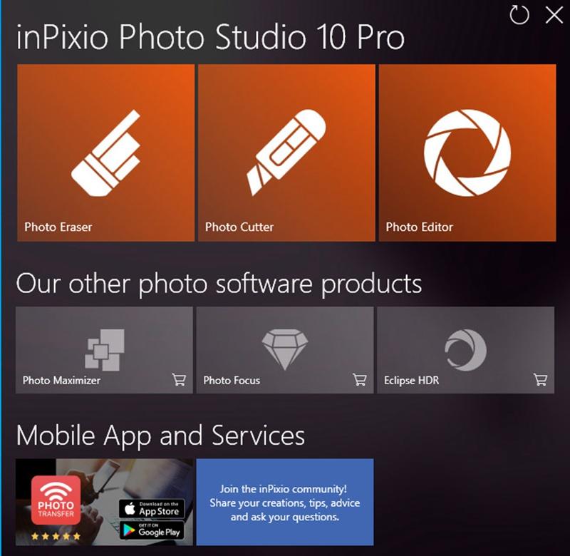 InPixio Photo Studio 10