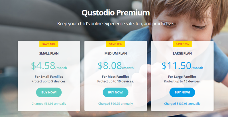 Qustodio Price
