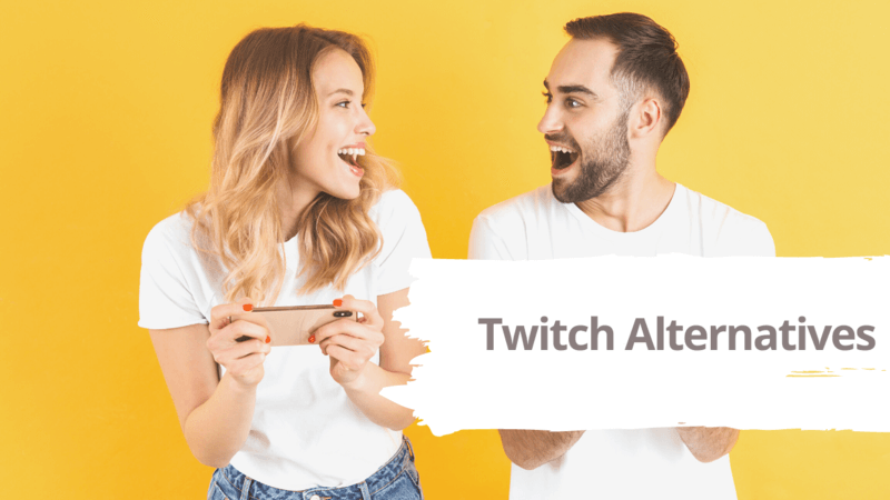 11 Best Twitch Alternatives for Live Game Streaming