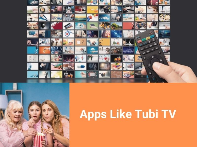 Top 12 Apps Like Tubi TV to Watch Movies and TV Shows